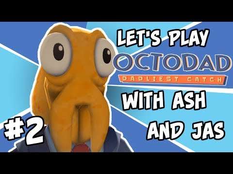 Stumpt Ash and Jas Play - Octodad - #2 - Segway to Sushi