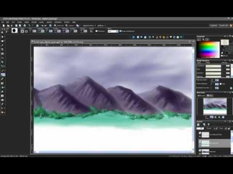 Let's Draw 11 – Part 2 of Digital Landscape Painting