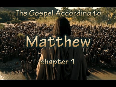 Holy Bible Audio: Matthew 1 to 28 - Full (Contemporary English) ECV Spoken Bible