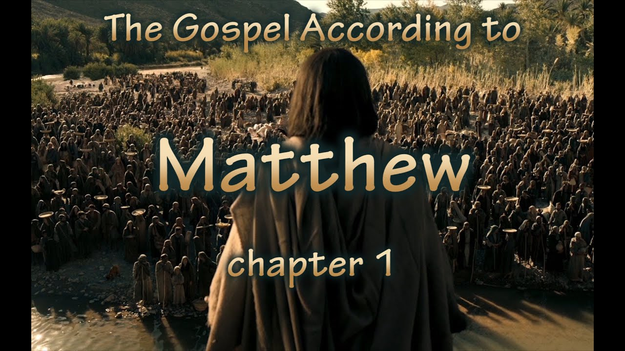 an analysis of the first chapter of matthew Matthew chapter twenty-four is a largely symbolic chapter of the new testament that has been misinterpreted in two extreme directions  a study of matthew 24 .