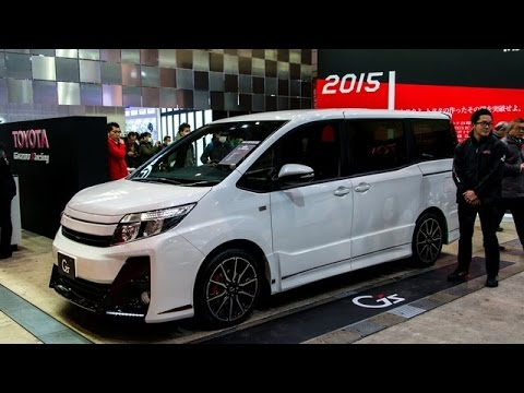 2016 Toyota Noah Voxy Gs Concept Revealed Youtube