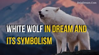 White Wolf In Dream And Its Symbolism