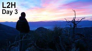 L2H - Day 3, Amazing Sunrise, Telescope Peak, Tuber Spring