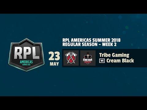 RPL AMÉRICAS | Tribe Gaming vs Cream Black | Semana 2