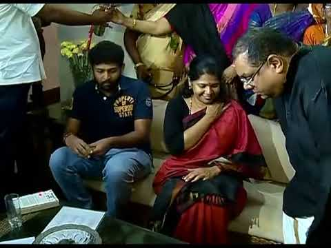 Kanimozhi's celebration after acquitted in 2G Scam case