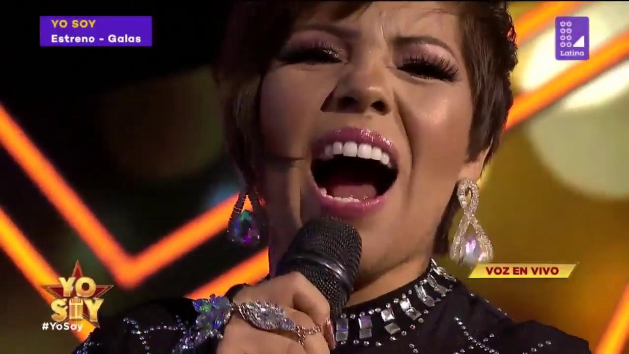 Susan Ochoa canta Te dejo ahora en Yo Soy - YouTube