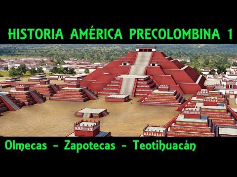 CULTURAS PRECOLOMBINAS 1: Mesoamérica (1/3) - Olmecas, Zapotecas y Teotihuacán