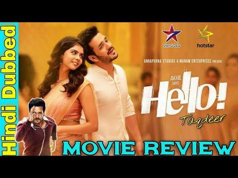 Hello (Taqdeer) Hindi Dubbed Full Movie Review | Akhil | Kalyani |