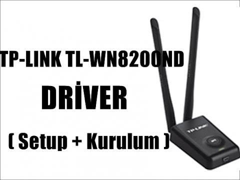 TP-LINK TL-WN8200ND Driver ( Kurulum + Setup ) - YouTube
