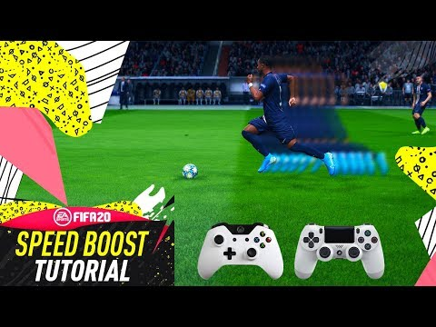 FIFA 20 SPEED BOOST TUTORIAL - HOW TO RUN ULTRA FAST - THE BEST PACE BOOST TRICK