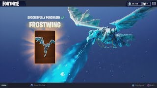 Dépenses 1500 V-Bucks Sur NEW Legendary 'FROST WING' (New Fortnite Glider)