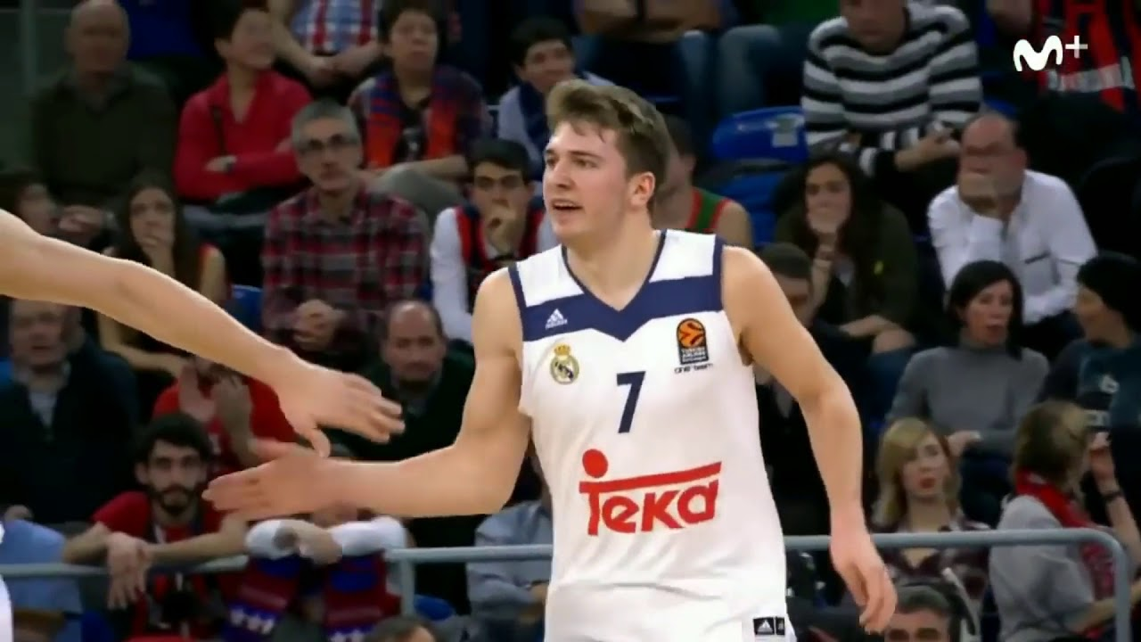 detailed look 29bbf 2382a Luka Dončić TOP Europe plays Highlights UPDATED