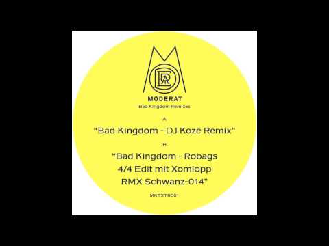 Moderat - Bad Kingdom (DJ Koze Remix)