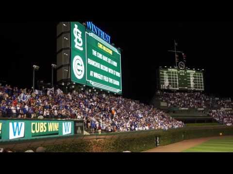 Cubs Win! Cubs Win! Go Cubs Go! 9/25/2016