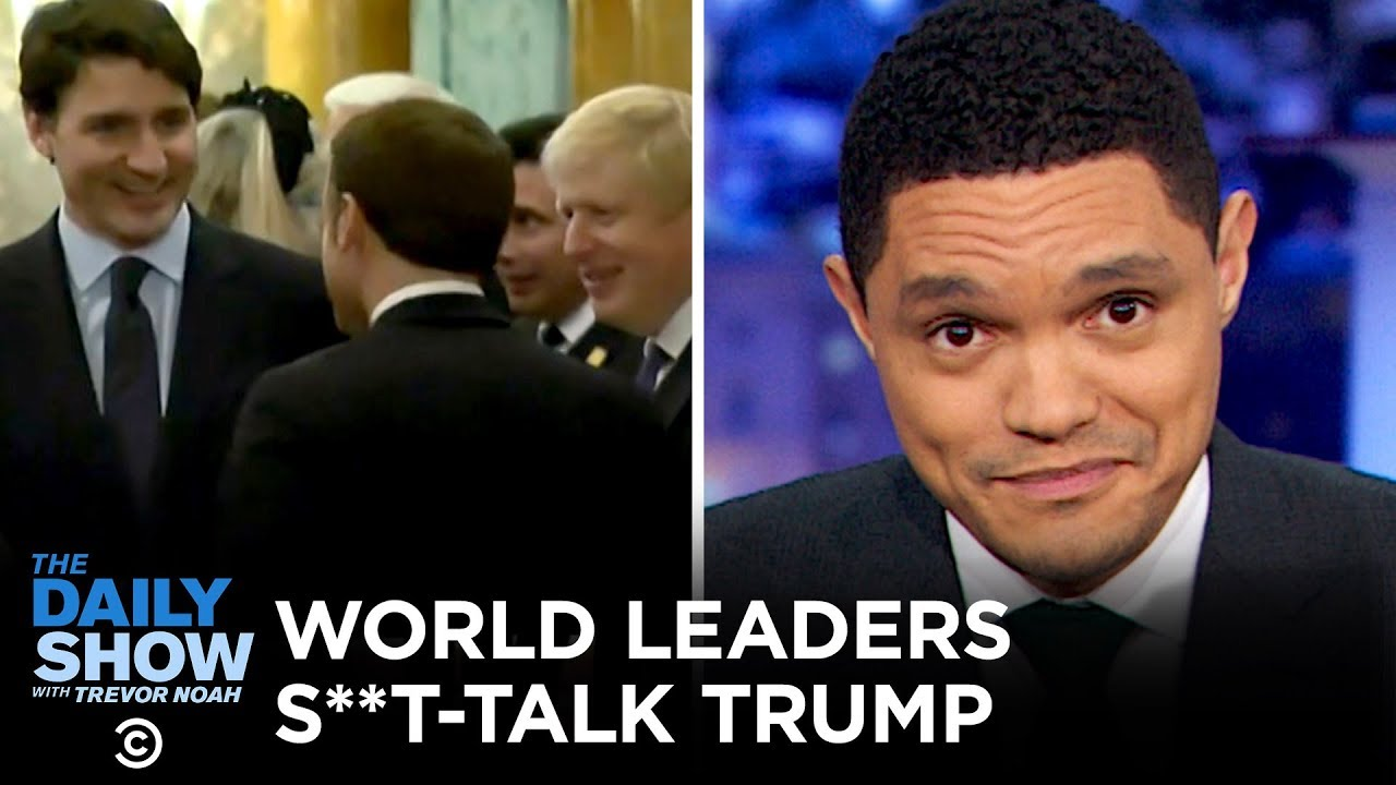 "Résultat de recherche d'images pour ""World Leaders Caught Talking S**t About Trump 