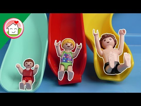 حديقة الألعاب المائية - ميجا فيديو بلاي موبيل - عائلة عمر - أفلام بلاي