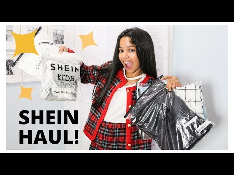 KIDS SHEIN Try On HAUL