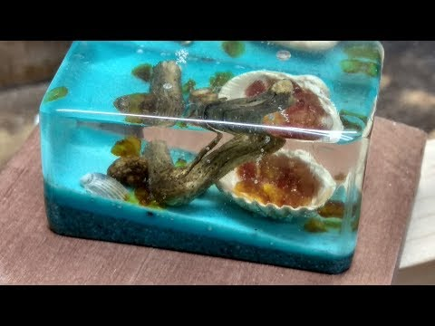 Resin aquarium DIY  - Akwarium z żywicy epoksydowej
