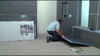 wedi | NL - Training: Inloopdouche Fundo Primo op betonnen vloer inbouwen