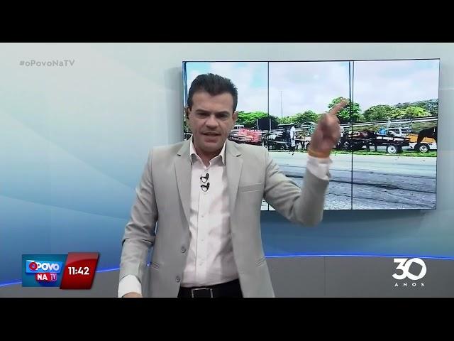 Vice prefeito de João Pessoa se reúne com carroceiros após protesto - O Povo na TV
