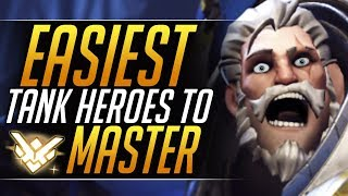 How to Play EVERY TANK - BEST Heroes and 1 SECRET Tip to Rank Up | Overwatch Gameplay Guide