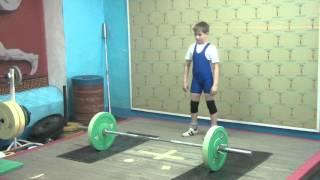 Маклаков Тимур, 12 лет, вк 42 Рывок 40 кг