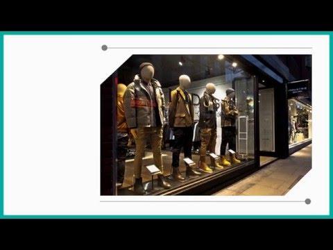 Самые стильные мужские магазины.  Модный дизайн бутика