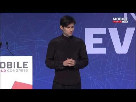 Pavel Durov (Telegram)  - Keynote MWC 2016