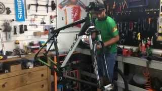 Processo de Montagem de Bike GT Karakoran - Aventura Bikes Shop