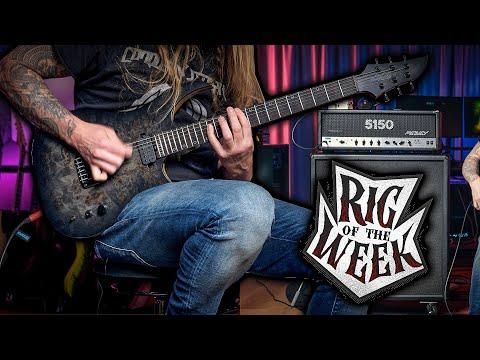 RIG OF THE WEEK - Schecter Keith Merrow & Peavey 5150