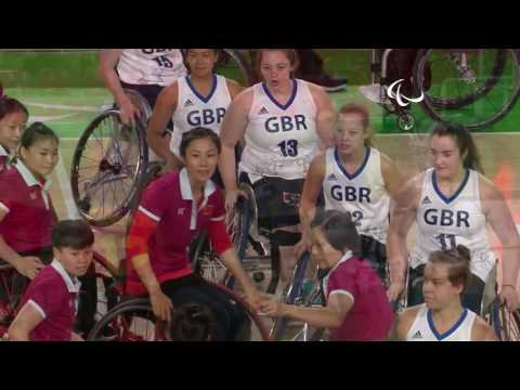 Day 6 evening | Wheelchair Basketball highlights | Rio 2016 Paralympic Games