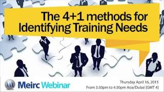 For hr and training professionals, identifying needs is an essential first step in any process. its basic objective to determine the pri...