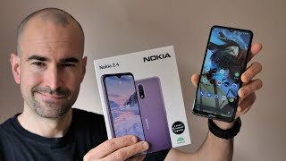 Nokia 2.4 Unboxing | £99 Budget Phone | Full Tour, Gaming & Camera Test