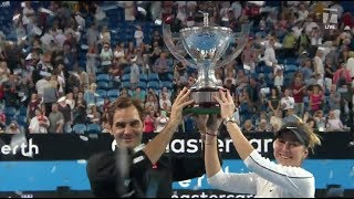 Tennis Channel Live: Roger Federer & Belinda Bencic Defend Switzerland's Hopman Cup TItle