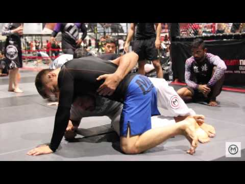 "MMA legend Rodrigo ""Minotauro' Nogueira teaches NoGi techniques at Team Nogueira Dubai"