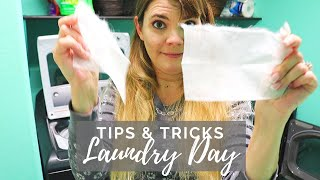 Easy LAUNDRY DAY ROUTINE // CLEANING Motivation // Cleaning Mom