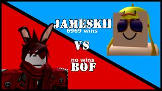 ROBLOX cRAP BATTLE // Jameskii VS BOF