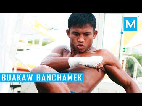 Buakaw Banchamek Muay Thai Training | Muscle Madness