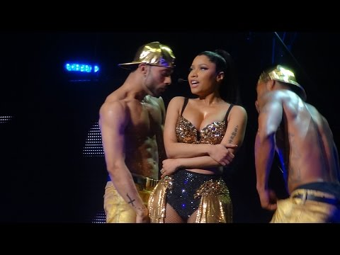 Nicki Minaj - Flawless ft. Beyonce (Brussels, Belgium - The Pink Print Tour, Palais 12 - HD)