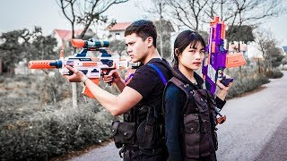 LTT Nerf War : special task SEAL X Attack Fight criminal group with nerf guns sniper