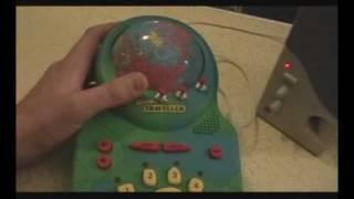 Circuit bent Geosafari Traveller game [speech synth glitch]