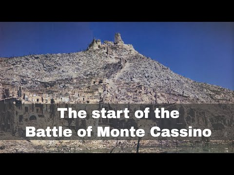 17th January 1944: Allies launch the Battle of Monte Cassino