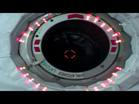 Full Cygnus OA-8 Installation To International Space Station Coverage