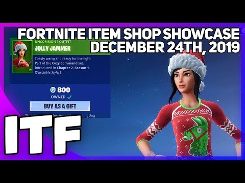 Fortnite Item Shop *NEW* SO MUCH NEW STUFF! [December 24th, 2019] (Fortnite Battle Royale)