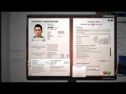 FIFA MANAGER 11: Transfer Market