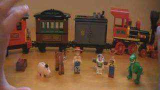 Lego 7597: Toy Story 3 Western Train Chase - Review - Kobacaatt