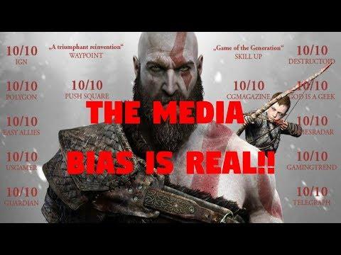 God of War\'s Perfect Review Scores Prove MEDIA BIAS Exists!