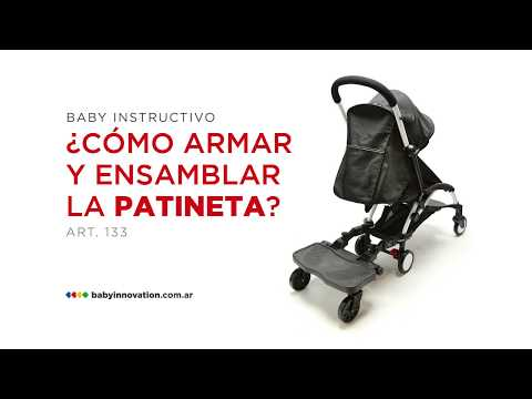 f5bf0fd19 Patineta para cochecito - Baby Innovation - YouTube