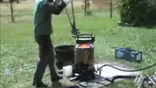 Backyard Iron Casting