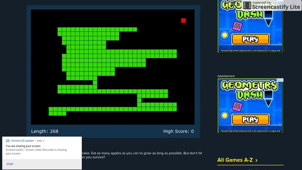 snake vs block cool math games